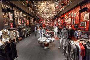 The John Varvatos storefront Florida, located on Lincoln Road (Courtesy of John Varvatos)