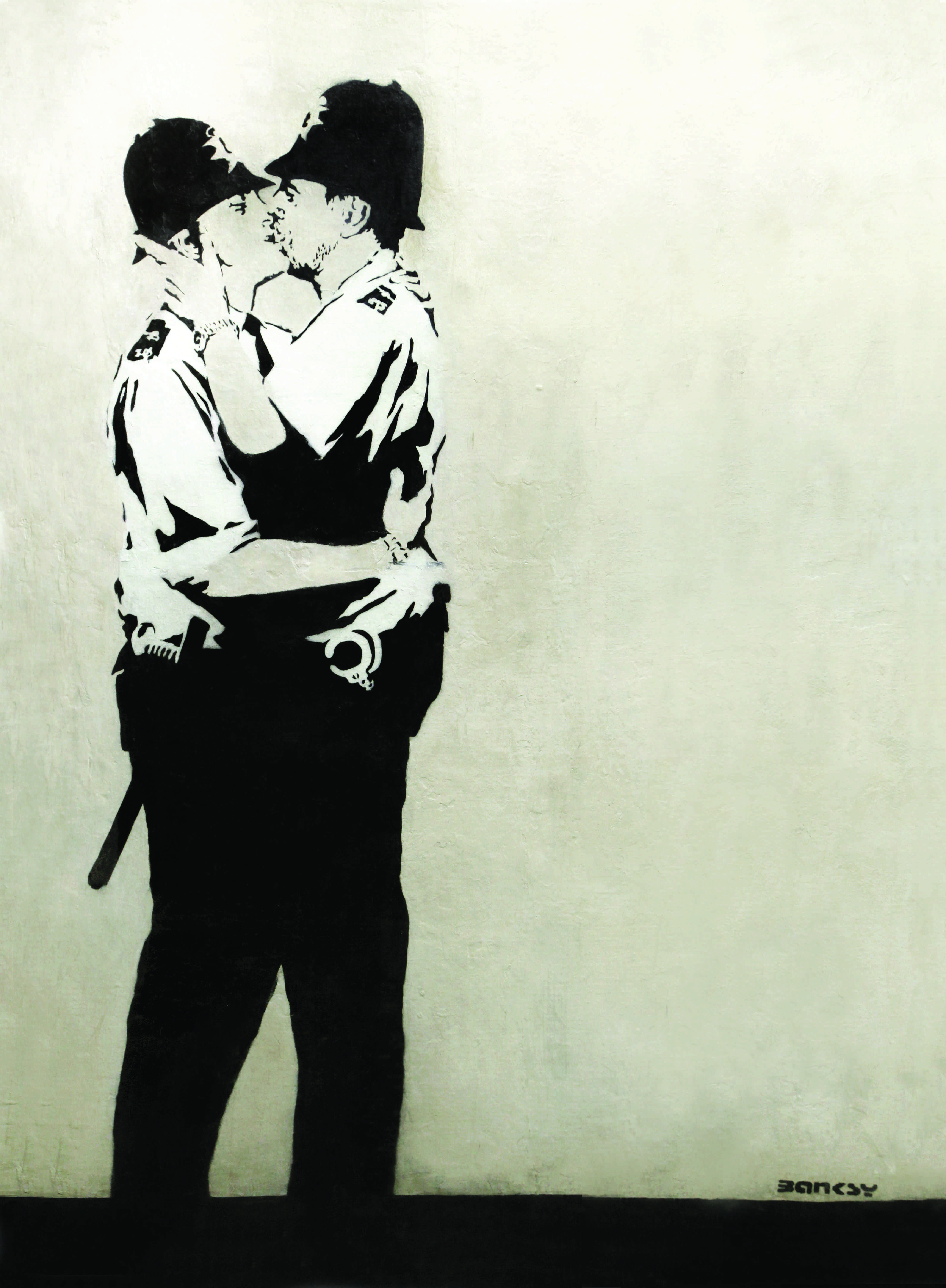 Banksy Kissing Copper S Police freelance resume writing happytom co
